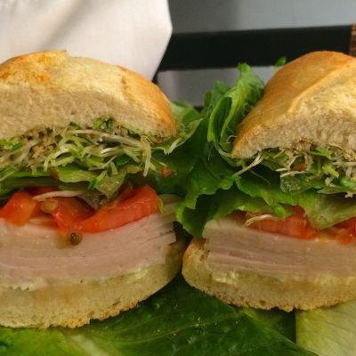 Turkey Sandwich to go